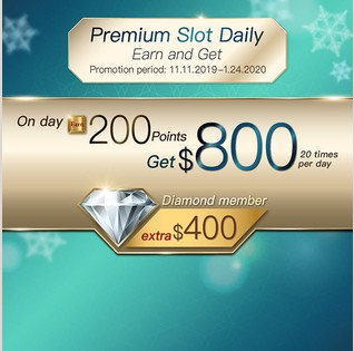 Premium Slot Daily Earn and Get